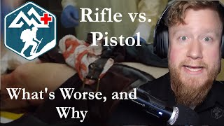 Rifle vs. Pistol: Which is Worse, and Why