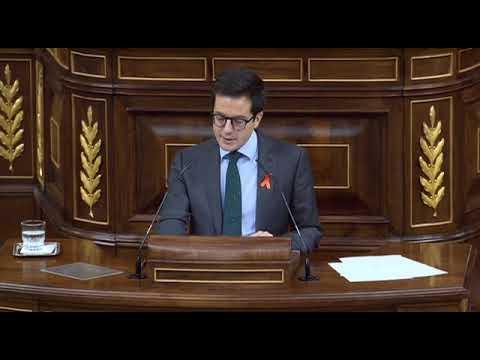 El diputado soriano Cabezón defiende el pacto de pensiones en el Congreso