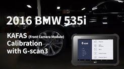 2016 BMW 525i Front Camera Calibration After Windshield Replacement