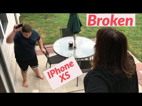FAT KID SMASHES iPhone TO GET IPhone XS