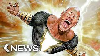 Gambar cover Black Adam vs Superman, Bourne 6, Avatar 2.. KinoCheck News