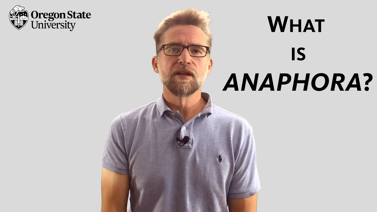 """Download """"What is Anaphora?"""": A Literary Guide for English Students and Teachers"""
