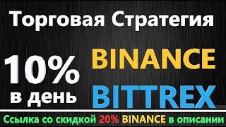 Торговая стратегия СКАЛЬПИНГ Binance Bittrex, КРИПТОВАЛЮТА КАК ТОРГОВАТЬ на бирже