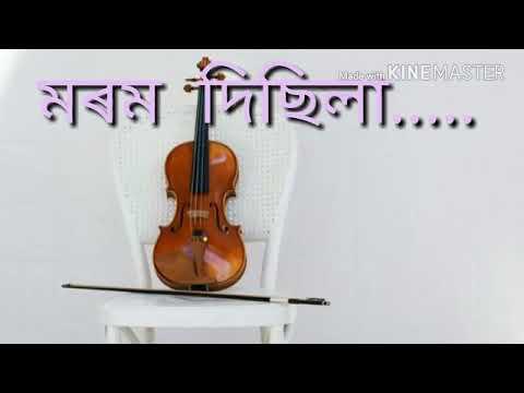 Hidina Asila Hiyar Logori..!Assamese sad song...whatsapp status song by Zubeen Garg
