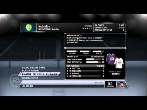 NHL 12: Hockey Ultimate Team – EP 1