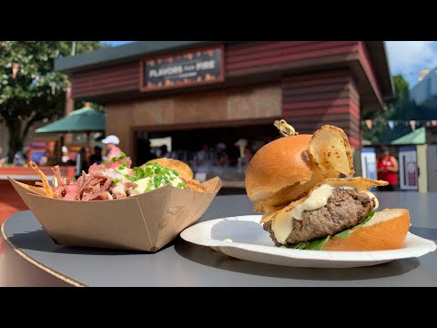 Epcot Food & Wine Opening Day 2019 | New Booths, New Food, New Merch!
