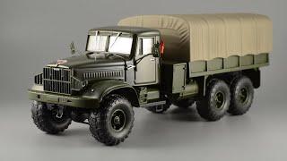 """Обзор на модель КРаЗ - 255б от """"Наш Автопром"""", 1/43"""