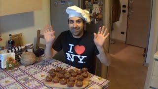 Ricetta Muffin Cioccolato E Nocciole - Chocolate Chip & Hazelnut Muffins Recipe