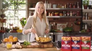 Orange Ginger Beef -- Janet's Endless Hamburger Helper Possibilities