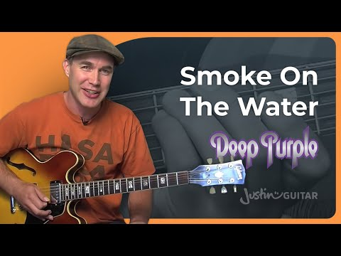 How to play Smoke On The Water by Deep Purple (Rock Guitar Lesson SB-311)