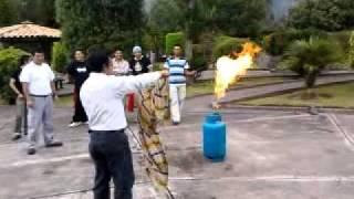Apagar cilindro de gas