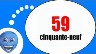 Французского видео урок = Цифры от 50 до 60