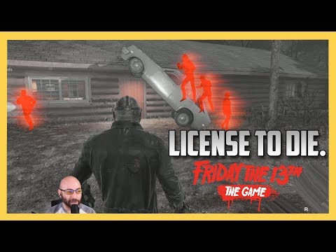 LICENSE TO DIE - Friday the 13th The Game