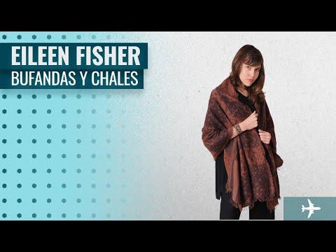 10 Mejores Ventas Bufandas Y Chales De Eileen Fisher: Eileen Fisher Airy Linen Cashmere Jacquard