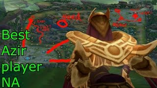Best Azir player NA: Extreme Tactics