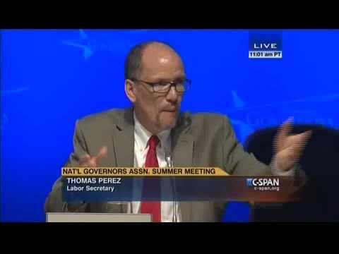 U S  Labor Secretary Perez Recounting FRCC Visit 07 25 2015