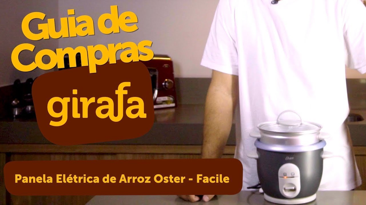 a3968d9ba Guia de Compras - Panela Elétrica de Arroz Oster Facile - YouTube