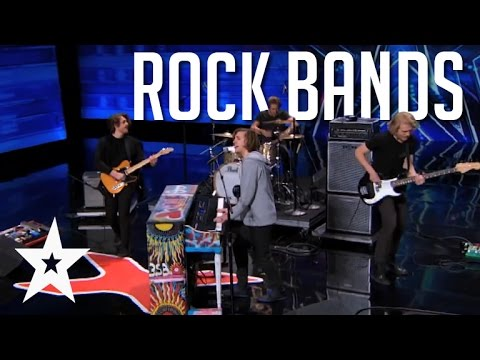 6 Awesome Rock Bands Around The World On Got Talent