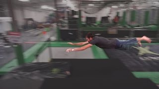 Mega Trampoline Dive Kong - Gym Training