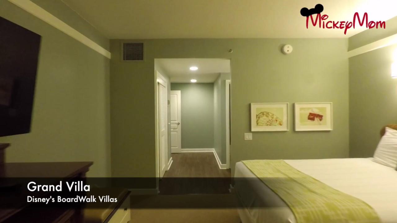 Disney S Boardwalk 3 Bedroom Grand Villa Walk Through Tour