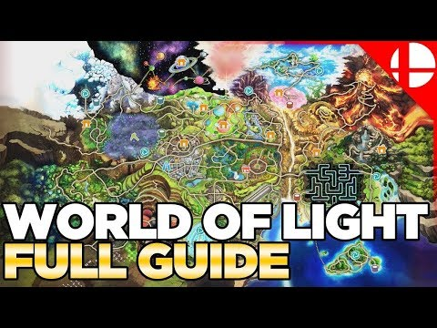 World of Light Character Locations & Guide - Smash Ultimate thumbnail