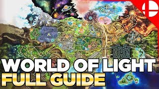 Скачать World Of Light Character Locations Guide Smash Ultimate