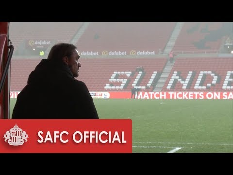 Behind The Scenes: SAFC V Norwich