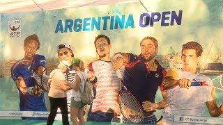 Zeballos y Molteni avanzaron a la final de dobles del Argentina Open