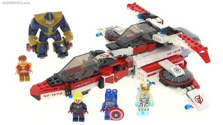 LEGO Marvel Super Heroes Avenjet Space Mission review! set 76049