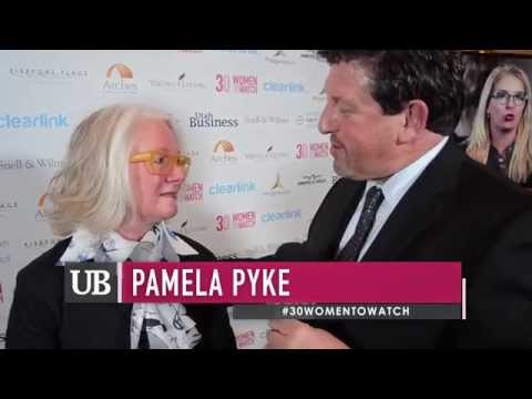 """Pamela Pyke: Interview at """"30 Women To Watch"""""""