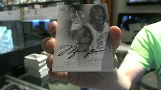 2013 Ud Michael Jordan Master Collection Sealed Box Break - C&c #bk6