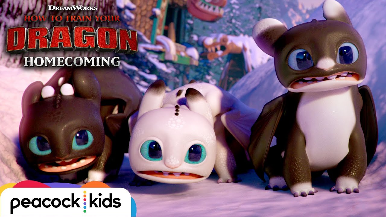 Download Surprise Visitors in New Berk  | HOW TO TRAIN YOUR DRAGON - HOMECOMING
