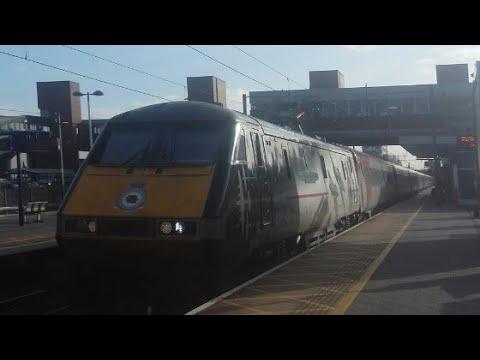 Trains At Stevenage 3/1/18