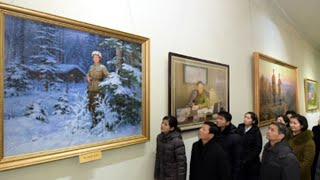 Landscape Painting and Handicraft Exhibition Opens in Pyongyang