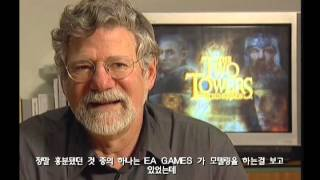 [PS2] The Lord Of The Rings The Two Towers - Interview Peter Jackson & Barrie Osborne