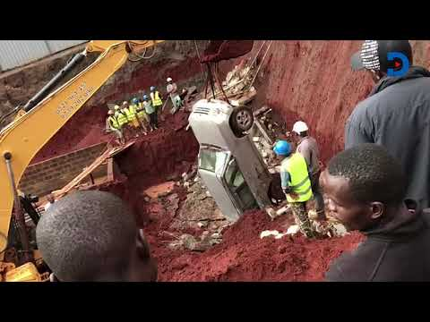 Ruaka tenants wake up to destroyed cars after section of apartment collapses
