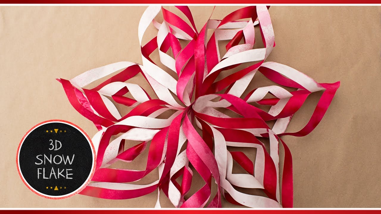 make a paper snowflake How to cut and create beautiful paper snowflakes  but probably the best resource i found was a roundup of 10 different snowflake ideas including an idea that uses.