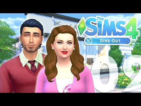 Let's Play: The Sims 4 Dine Out - (Part 02) - Our Own Restaurant!