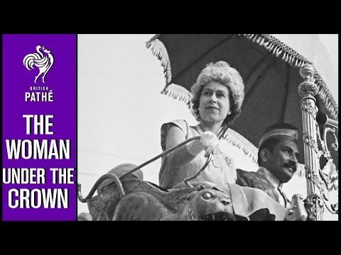 The Queen Around the World | British Pathé