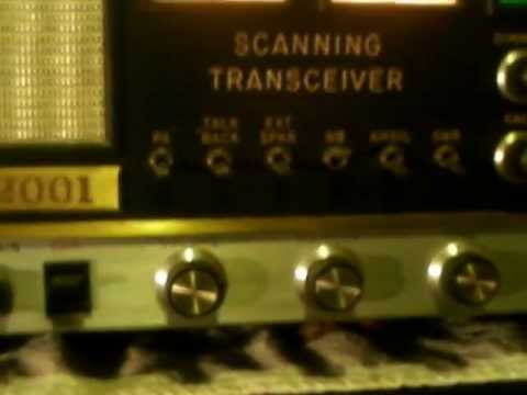 ARF 2001 Scanning Transceiver From 1970ies. Very rare radio
