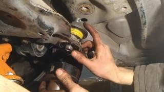 Замена сайлентблоков подрамника форд фокус 2