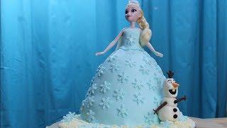 Frozen, Tort lalka Elsa z Olafem