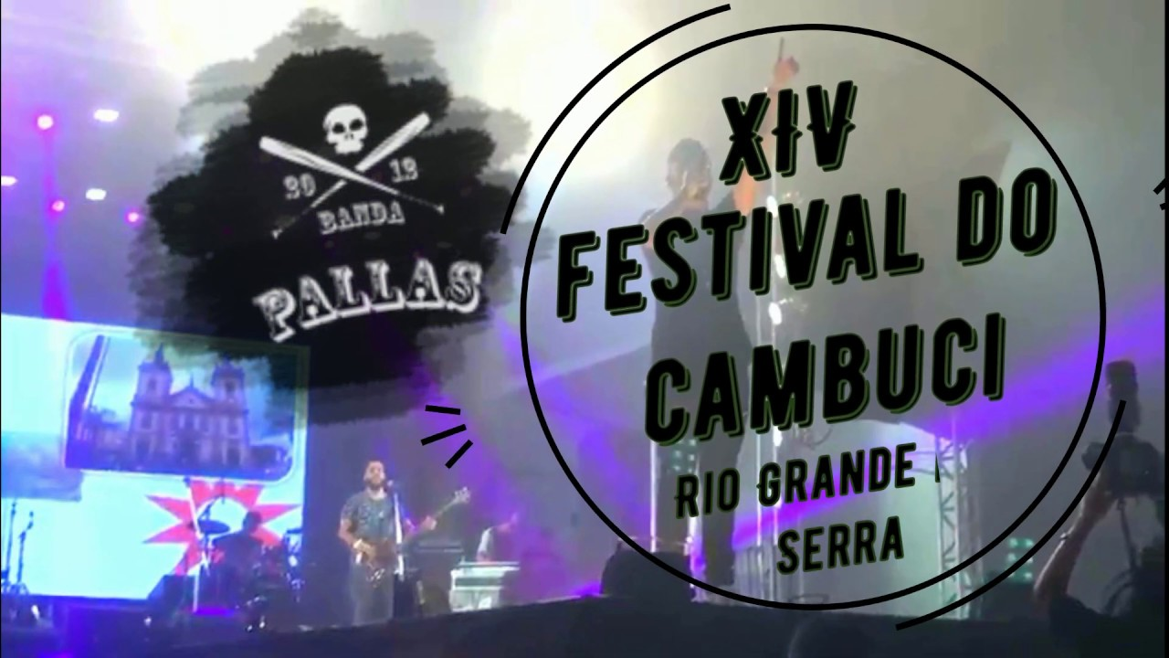 PALLAS ao vivo no XIV Festival do Cambuci 2019