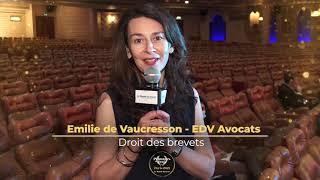 Palmarès du Droit 2021 - EDV Avocats - Droits des brevets