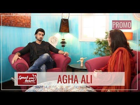 Agha Ali Talks The Hardships He Faced | Speak Your Heart With Samina Peerzada