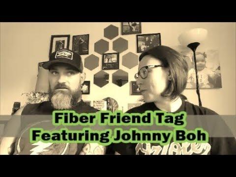 A Lefty Knitter - Fiber Friends Tag