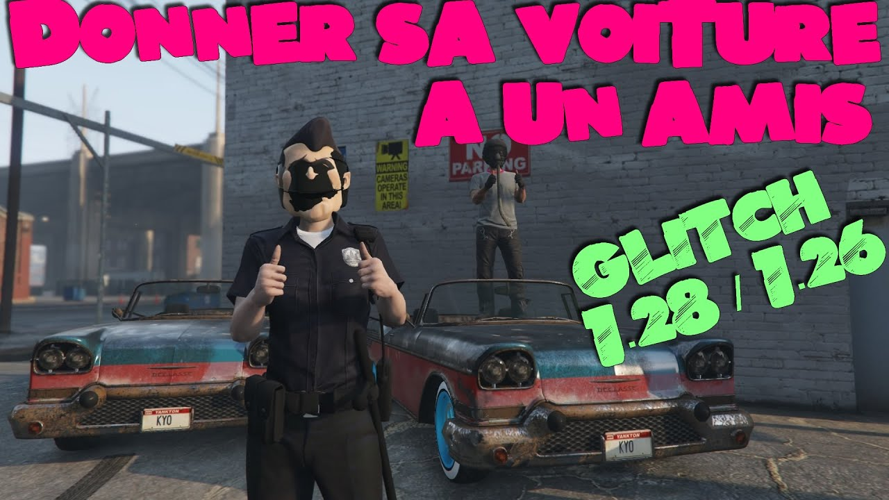 gta 5 online donner sa voiture a un amis glitch youtube. Black Bedroom Furniture Sets. Home Design Ideas