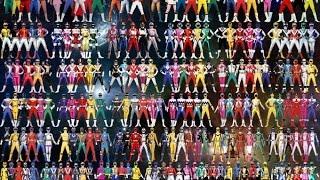 All Power Rangers Theme Songs (1993-2016)