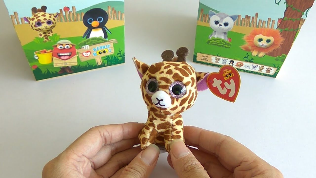af3d19a0ecd Mcdonalds happy meal toy beanie boos twigs youtube jpg 1280x720 Chibi beanie  boos