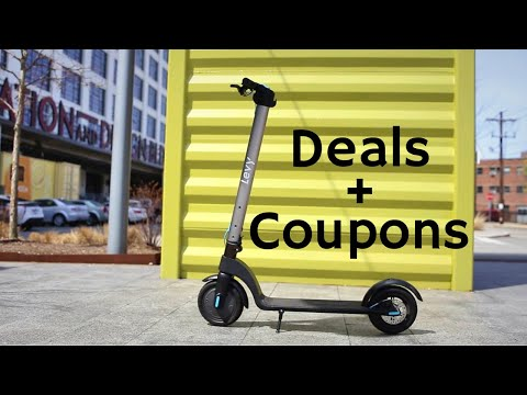Best Deals & Coupons for Electric Scooters - May 2020